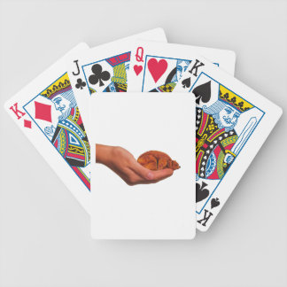 Snuggle Bear Bicycle Playing Cards