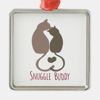 Snuggle Buddy Christmas Ornaments