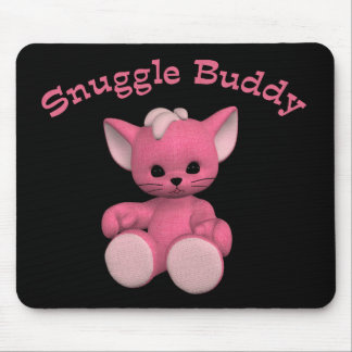 Snuggle Buddy Kitty Toon Mousepad
