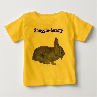 Snuggle-bunny apparel baby T-Shirt