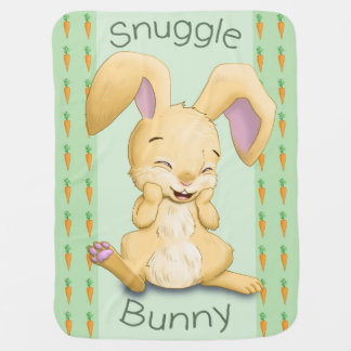 Snuggle Bunny Baby Blanket (Green)