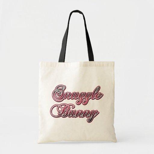 Snuggle Bunny Budget Tote Bag