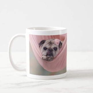 Snuggle Pug Mug by Pugs and Kisses