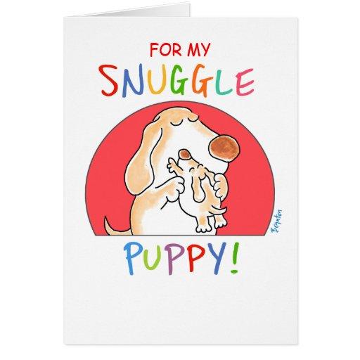 SNUGGLE PUPPY! by Boynton Card