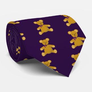 Snuggle the Teddy Bear Tie