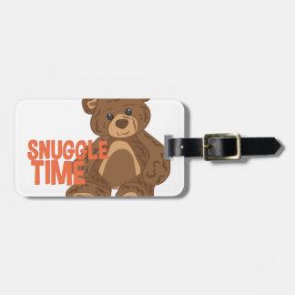 Snuggle Time Luggage Tag