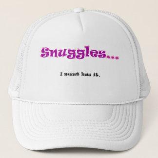 Snuggles... I must has it. Trucker Hat