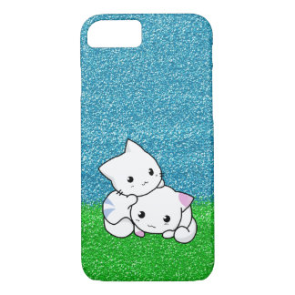"Snuggling Kittens 4.7"" Screen iPhone 7 Case"