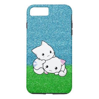"Snuggling Kittens 5.5"" Screen iPhone 7 Plus Case"