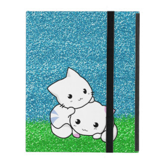 Snuggling Kittens Case For iPad