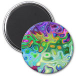 So abstract 4.1 6 cm round magnet