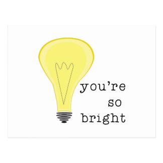 So Bright Postcard