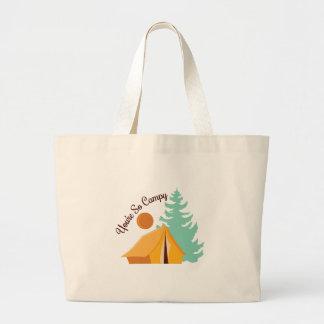 So Campy Jumbo Tote Bag
