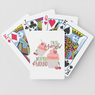 So Cherryful Bicycle Playing Cards