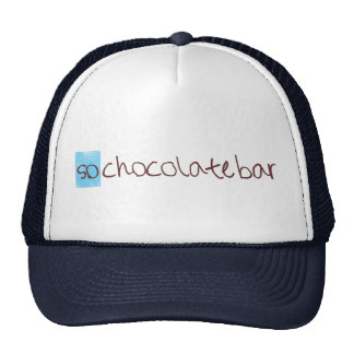 So chocolate bar trucker hat! cap