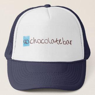 So chocolate bar trucker hat! trucker hat