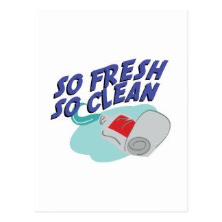 So Clean Postcard