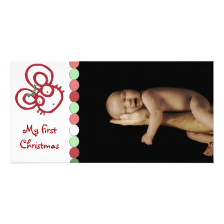 So Cute Christmas Mouse My First Christmas Photo Cards