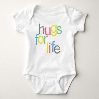 So cute! Hugs for life Baby Bodysuit