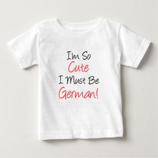 So Cute Must Be German Tshirts