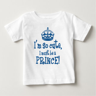 So Cute Prince Baby T-Shirt