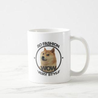 So Fashion, So Doge Basic White Mug