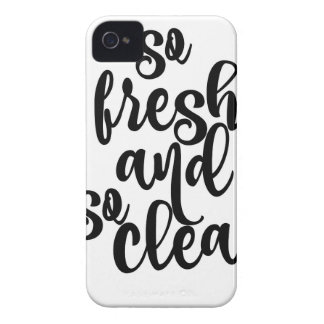 So Fresh and So Clean iPhone 4 Case-Mate Case