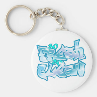 So Fresh So Clean Basic Round Button Key Ring