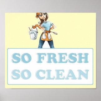 SO FRESH SO CLEAN POSTER