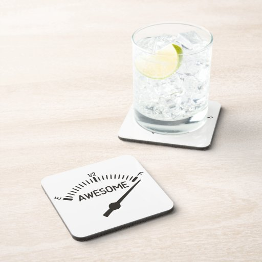 So Full of Awesome Gauge Drink Coaster