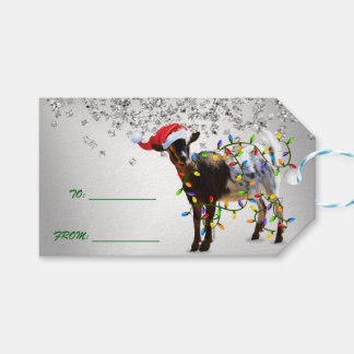 SO Good Christmas Goat Gift Tags