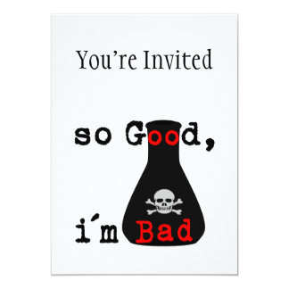 So Good I'm Bad Card