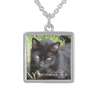 So Handsome Good Boy Cat Memorial Necklace