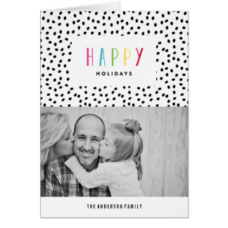 So Happy   Holiday Photo Greeting Card