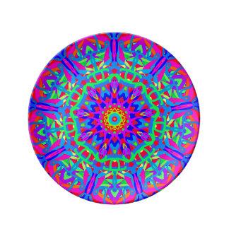 So Happy to See You Mandala Porcelain Plate