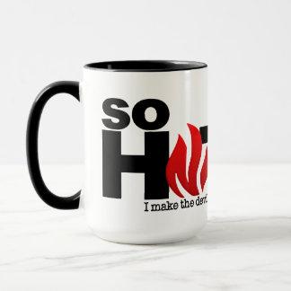 So Hot custom name mugs