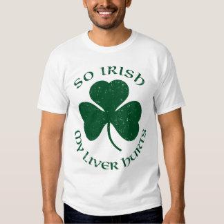 So Irish My Liver Hurts T-Shirt
