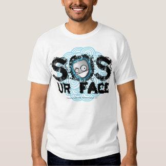 So Is Your Face, Dude Blue Blur Shirt