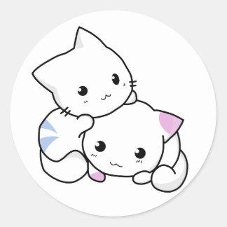 So Kawaii Round Sticker