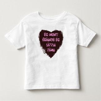 So little time Girls Toddler T-Shirt