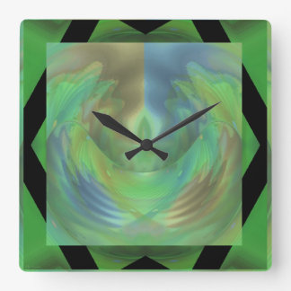 So Long and Thanks for All the Fish Square Wall Clock