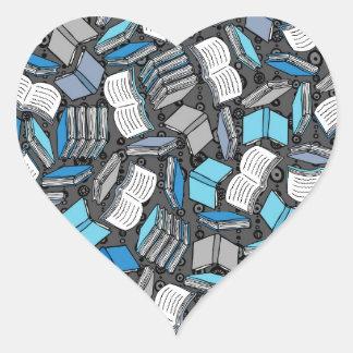 So Many Boojs Heart Sticker