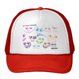 so many cartoons the lid hats
