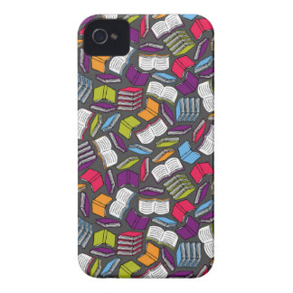 So Many Colorful Books... iPhone 4 Cover