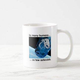 So Many Humans, So Few Asteroids Mug