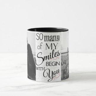 So Many Smiles Custom Photo Mug