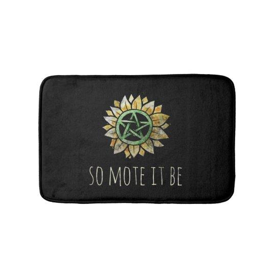 So mote it be bath mat