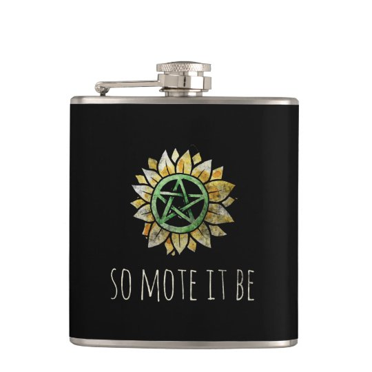 So mote it be hip flask