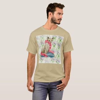 So Much Gato So Much Wow Watercolor Rare T-Shirt