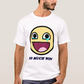 so much win awesome smiley T-Shirt